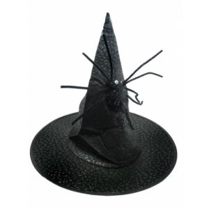 Колпак Ведьмы черный с пауком