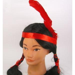 Парик индейской девушки