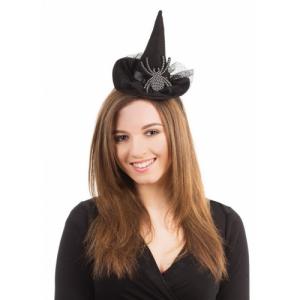Шляпа ведьмы с пауком на ободке