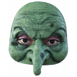 Полумаска Ведьма Зеленая