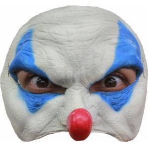 Полумаска Голубой Клоун