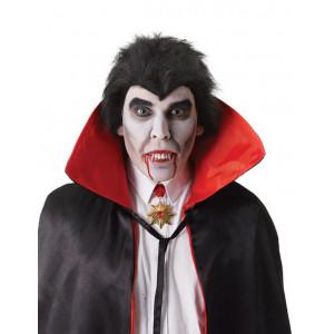 Зубы Вампира с серебряными клыками