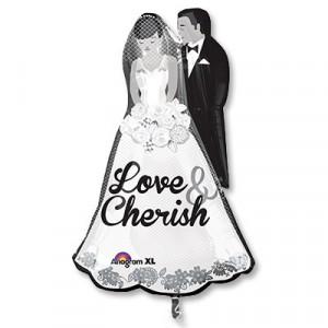 Шар фигура Жених и невеста