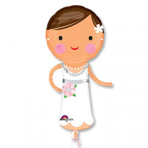 Шар фигура Красавица Невеста