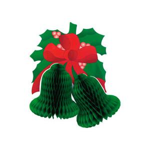 Колокольчики Рождеств зеленые 41CM/G
