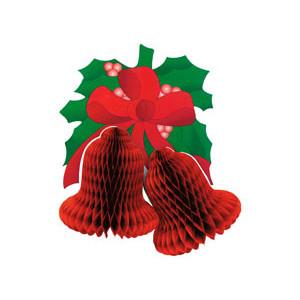 Колокольчики Рождеств красные 41CM/G