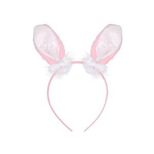 Ободок Ушки кролика роз/A