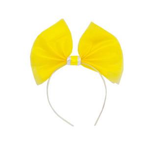 Ободок Фант фатин желтый