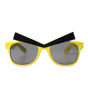 Очки Злые Брови желтые/G