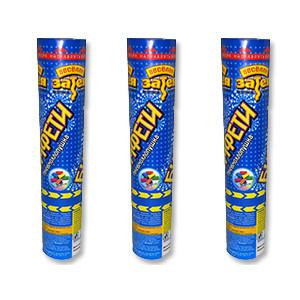 Хлопушка Бумфети 20см конфетти бумага