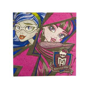 Салфетка Monster High 33см 16шт/A