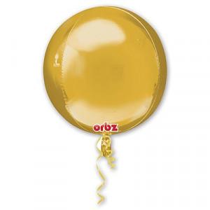 "3D СФЕРА без рис 16"" Металлик Gold"