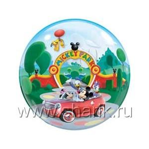 "П BUBBLE 22"" Disney Микки-парк (071444190275)"