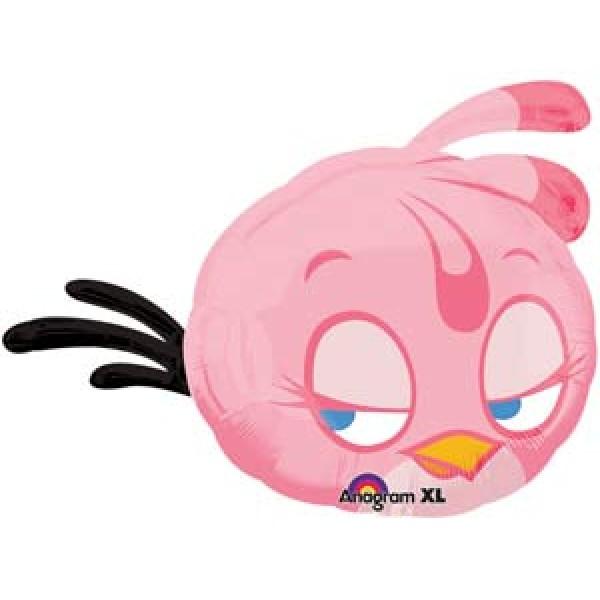 А фигура Angry birds розовая