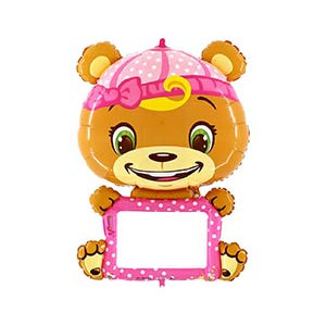 Г В-РАD с маркером Мишка в розовом