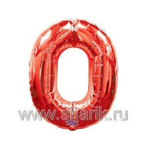 А ЦИФРА 0 Red