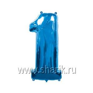 А ЦИФРА 1 Blue