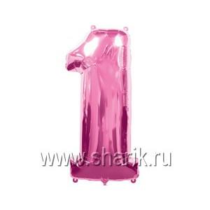А ЦИФРА 1 Pink