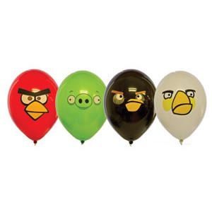 """Шар с рисунком 14"""" Angry Birds"""