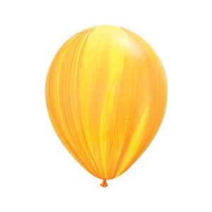 "11"" Супер Агат Yellow Orange"