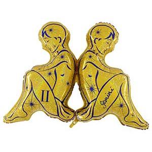 Зодиак Близнецы золотой