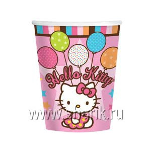 Стакан Hello Kitty 8шт/А