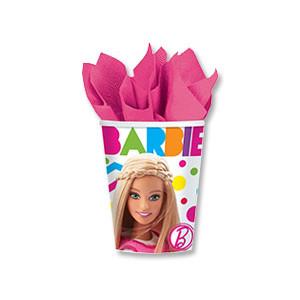 Стакан Барби 270мл 8шт/A