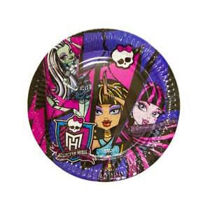 Тарелка Monster High 17см 8шт/A